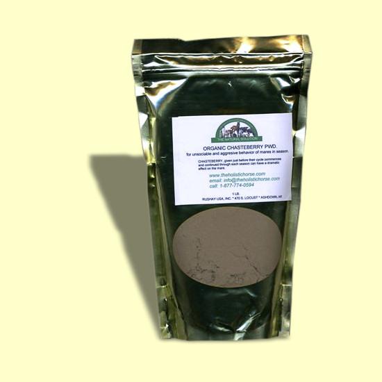 Organic Chasteberry Powder 1 Lb The Holistic Horse