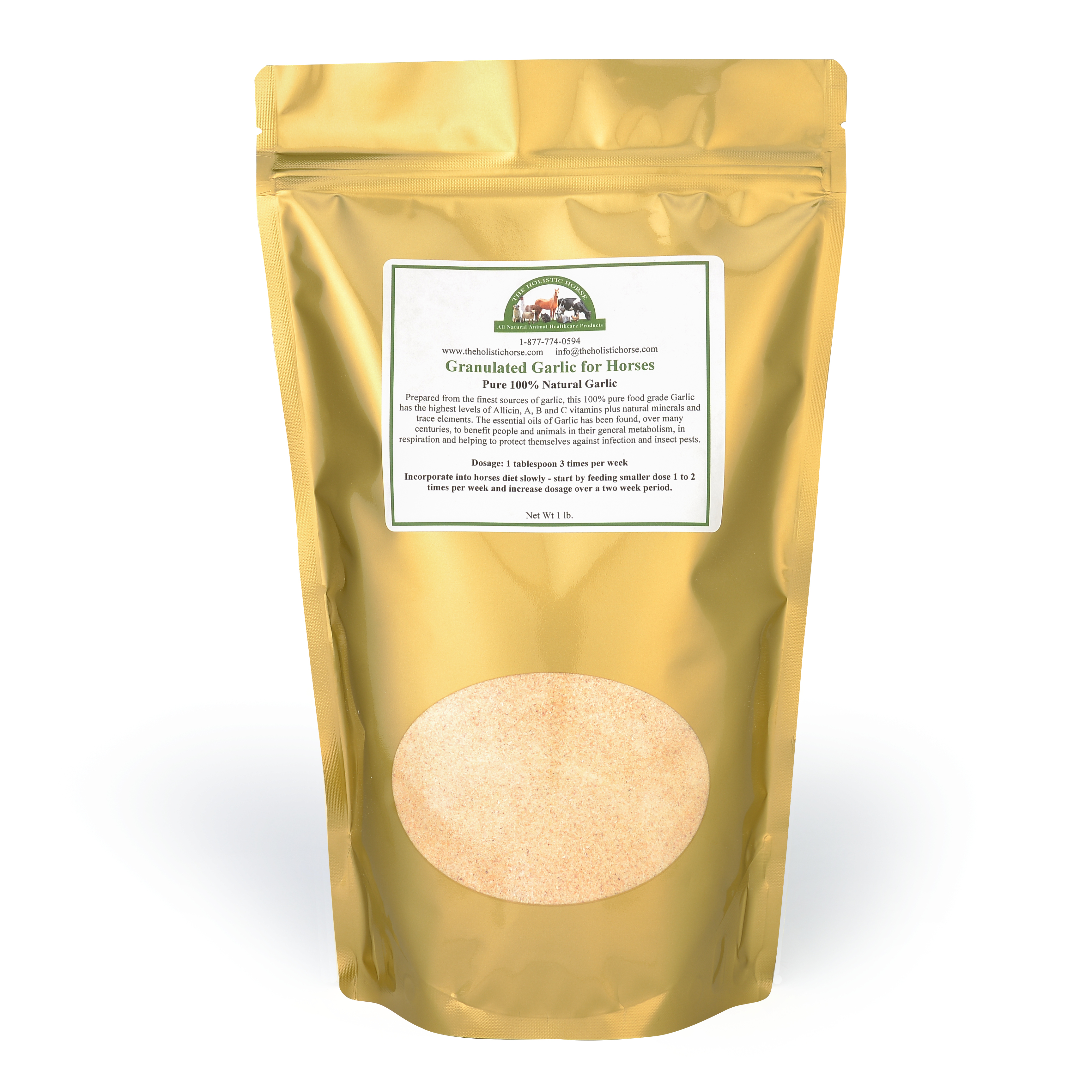 Granulated Garlic for Horses