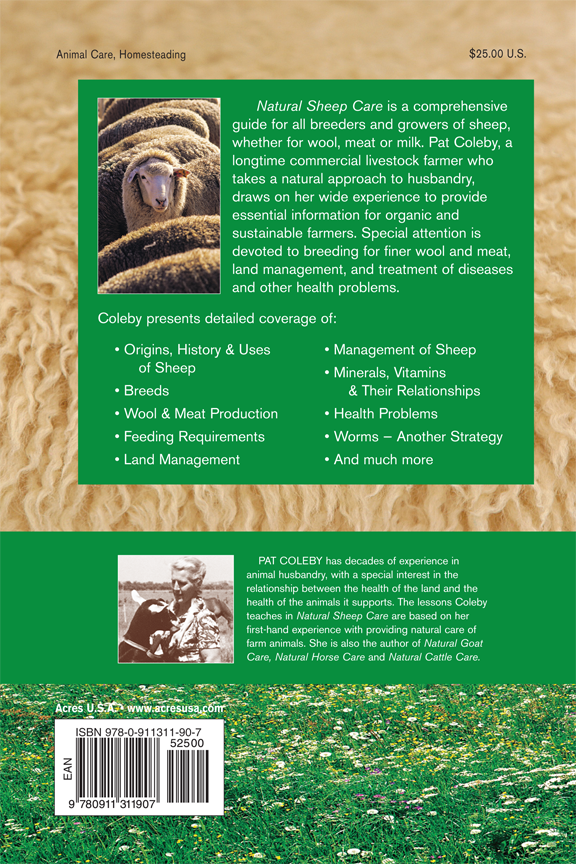 Pat Coleby Natural Sheep Care