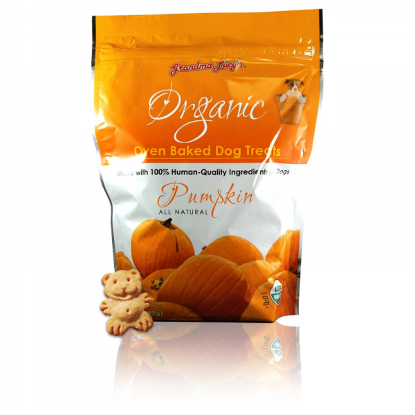 Grandma Lucys Organic Pumpkin Dog Treats